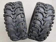 2 - 24x9-11 All Terrain Deestone D933 ATV TIRES PAIR DS7438 24x9.00-11 24/9-11
