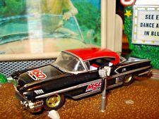 "1958 58 CHEVROLET IMPALA LIMITED EDITION 1/64 BLACK M2 ""MSD"" IGNITION RACE CAR"