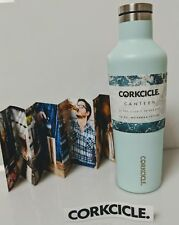 Canteen Water Bottle and Thermos, Corkcicle, 16 oz Turquoise