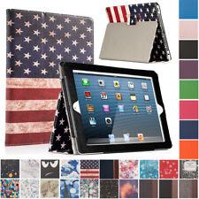 For iPad 2 3 4 Magnetic Folding Folio Case Stand Smart Cover Auto Sleep / Wake