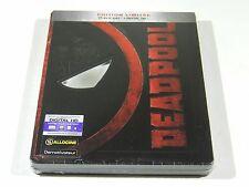 Deadpool Blu-ray Steelbook [FRANCE] REGION FREE OOS/OOP GLOSSY EMBOSSED