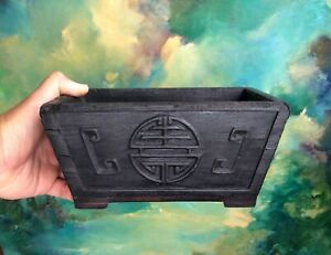 ANTIQUE CHINESE WOOD BOX -POSSIBLE YAUNMING YUAN SUMMER PALACE RELIC 1860