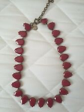 Joules Red Stone Necklace