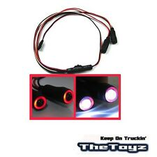 1/10 1/16 1/18 RC Car Angel Halo Eyes Red & White LED Lights TOYZ 701 Red .