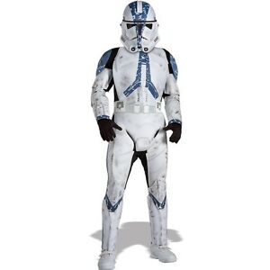 Star Wars Deluxe Clone Trooper Child Costume - Assorted Sizes Available