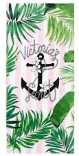 Victoria's Secret Paradise Beach Towel Tropical Palm