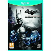 Batman Arkham City - Armored Edition For PAL Wii U (New & Sealed)