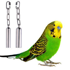 Squirrel Large Parrot Stainless Steel Bell Parrot Cage Essential Toy Stand 2017