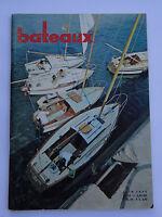 Revue magazine BATEAUX n°25 juin  1960 / VASSIVIERES MEROU SUPER ESTUAIRE