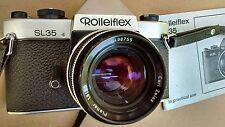Vintage Rolleiflex SL35 with Carl Zeiss 1.8/50 Planer Lense