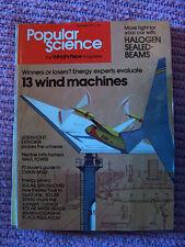 Popular Science Sept. 1978, 13 wind machines, wave power, solar energy savers