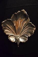 """Vintage_""""WB"""" Trade Mark Tray leaf shape with Grape shape handle"""