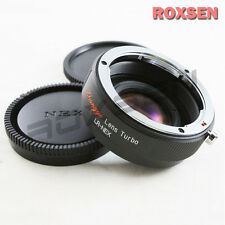 Zhongyi Focal Reducer Speed Booster Adapter Leica R mount lens to Sony NEX E 7 6