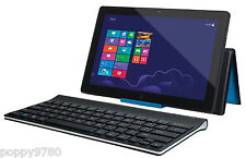 Logitech Tablet Wireless Keyboard for Windows 8 RT Android w/ Device Stand Cover