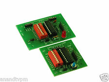ELEMENTZ RF BOARD HIGH QUALITY FR4 PCB with ENCODER DECODER - HT12E & HT12D IC