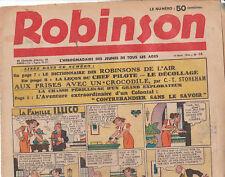 Robinson n° 16 - 16 Août 1936. Très bel état
