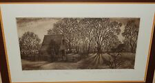 """MICHAEL KOHLER """"EARLY SPRING"""" LIMITED EDITION ETCHING"""