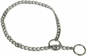 Ancol Chain Check Chain All Size for Dog Training anti pull