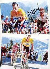 Lance ARMSTRONG - AK Bild mit Jan ULLRICH + Bild (10) - Print Copies + AK gratis