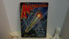 Amazing Stories Pulp Sept. 1929 Wesso Sci Fi Illust. Art Bell, Wates, Meek