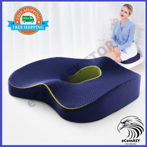 Memory Foam Seat Cushion Orthopedic Pillow For Office Chair Car Seat Wheelchair