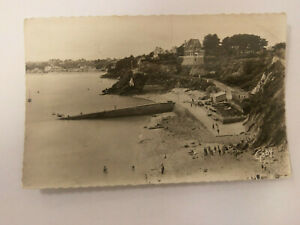 Saint-Cast France Vintage B&W Postcard 1957 Le Port de l'Isle