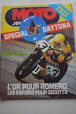 MOTO JOURNAL N°210 PANTHER 600 MODEL 100 CÔTE LAPIZE 200 MILES DE DAYTONA 1975