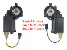 New Power Window Lift Motor Buick Cadillac Chevrolet Oldsmobile Pontiac Set of 2