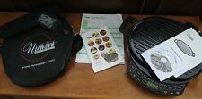 NUWAVE PRECISION INDUCTION COOKTOP Model: 30121 + CAST IRON BBQ GRILL