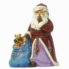 Jim Shore Heartwood Creek 'Silent Night Delivery' Santa with Toys 4037599
