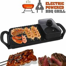 ELECTRIC GRILL BBQ [ HSX-611A ] - Kitchen Barbecue Cooker