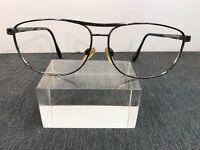 SERENGETI Authentic GG 6212 212 Gunmetal Aviator Eyeglasses 3849