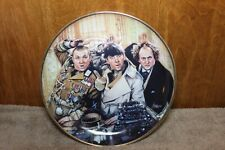 The Three Stooges Franklin Mint Fine Porcelain Collector Plate 1993