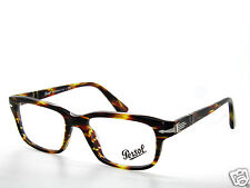 PERSOL 3073V 3073 V GREEN STRIPED BROWN 938  EYEGLASSES 54 FRAME  FREE S/H