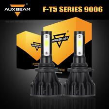 Auxbeam Pair 9006 HB4 LED Headlight Bulbs Kit Low Beam 60W 6000LM 6500K White
