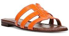 Sam Edelman Berit Strappy Croc-Embossed Flat Slide Sandal Size 7 NIB