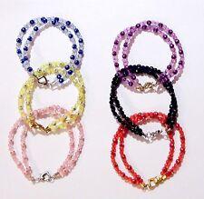 Handgefertigte Modeschmuckstücke mit Strass-Perlen für Damen