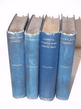 Vintage Books Set of 4 Bulwer Lytton's Novels-University Press Cambridge-1900s