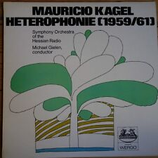 2549 023 Mauricio Kagel Heterophonie / Gielen / Hessian Radio Symphony Orchestra