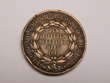 1849 MEDAL MARZ MARCH REVOLUTION LEOPOLD DUKE OF BADEN GERMANY GERMAN TOKEN COIN