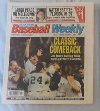 Nov 5 1995 USA Today Baseball Weekly Yankees Win World Series John Wetteland