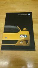 1998 Volkswagen VW W12 Concept Brochure
