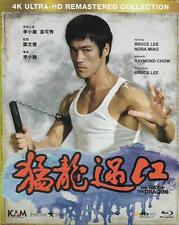The Way of the Dragon 4K Ultra HD Remaster Blu Ray Bruce Lee NEW Eng Sub