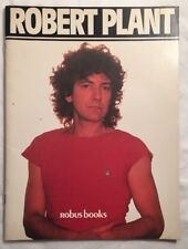 Robert Plant Robus Books Photo Picture Book Magazine 1984