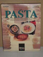 CD Windows Macintosh | La Pasta Ricettario Multimediale Interattivo | 1995