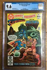 DC Comics Presents #47 1st App. He-Man & Skeletor in Comics CGC 9.6 1497109004