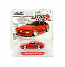 JDM Tuners 1986 Toyota Trueno AE86 Red 1/64 Diecast Model Car 30484 by Jada