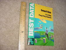 Best Data Smart One 33.6 Plug and Play Users Manual