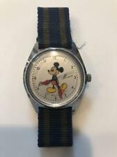 SEIKO Mechanical Watch Mickey Mouse 5000-7000 Hand winding Green Vintage 1970's