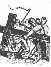 Otto Dix - Die Kreuzigung - Original Lithographie